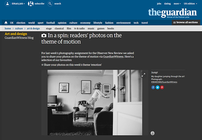 The Guardian Website